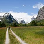 5 viajefilos en Noruega, Bergstetbreen 01
