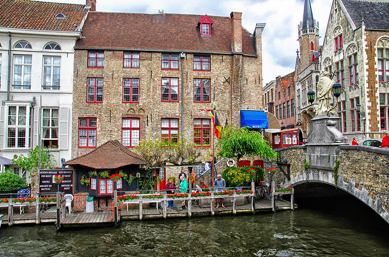 some colors of Bruges, Belgium August 2014