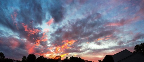 September Sunset in Northern Virginia
