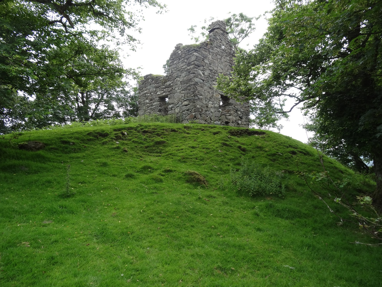 Old Stone Building on the Site of Cymer Castle, Llanelltyd, Dolgellau