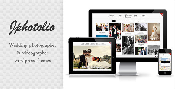 JPhotolio: Responsive Wedding Photography WP Theme Ver4.5.7