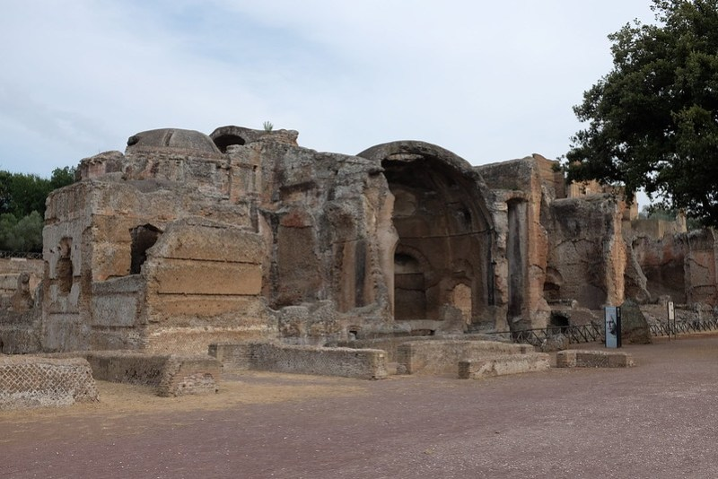 Great Baths in Hadrian's Villa