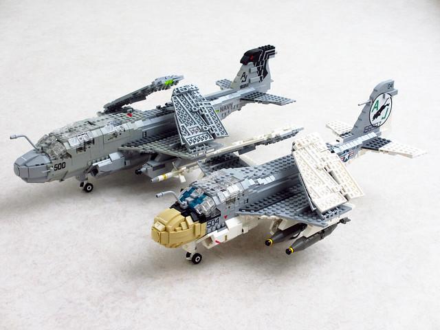 Grumman A-6E Intruder and EA-6B Prowler updated