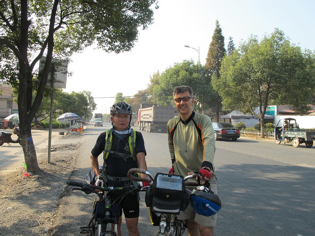 Fellow touring cyclists