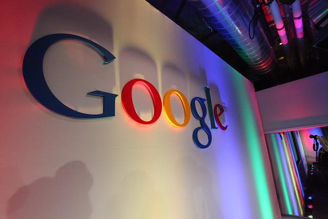 Google Logo in Building43