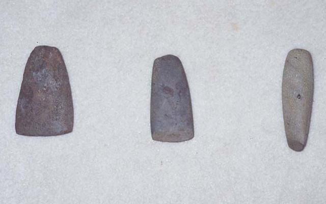 Three Gachai Alutung (Basalt Adze)
