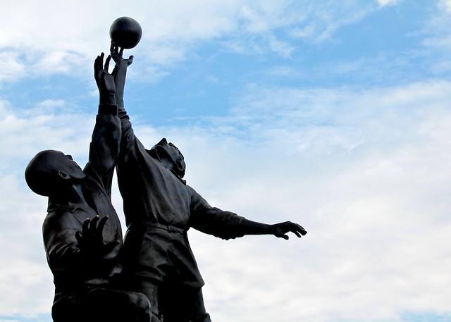 Twickenham Rugby Statue