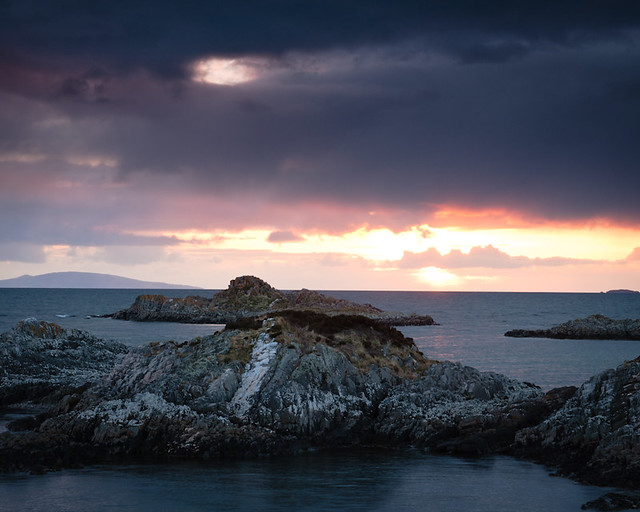 Sunset from Arisaig