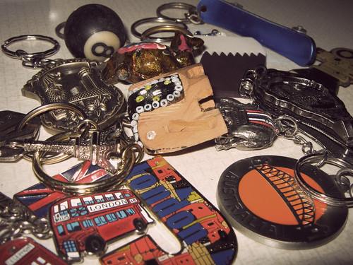 8. Key Ring Caboodle