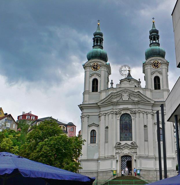 Iglesia Santa Maria Magdalena - Karlovy Vary | En los años 1… | Flickr
