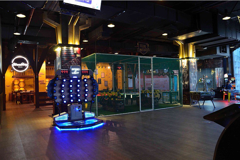 Primetime, a newly opened Sports Bar situated at R City Mall, Ghatkopar.