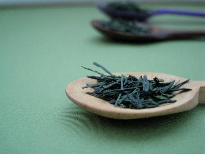 Gyokuro Tea Leaves