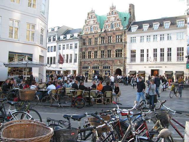 The largest pedestrian city centre