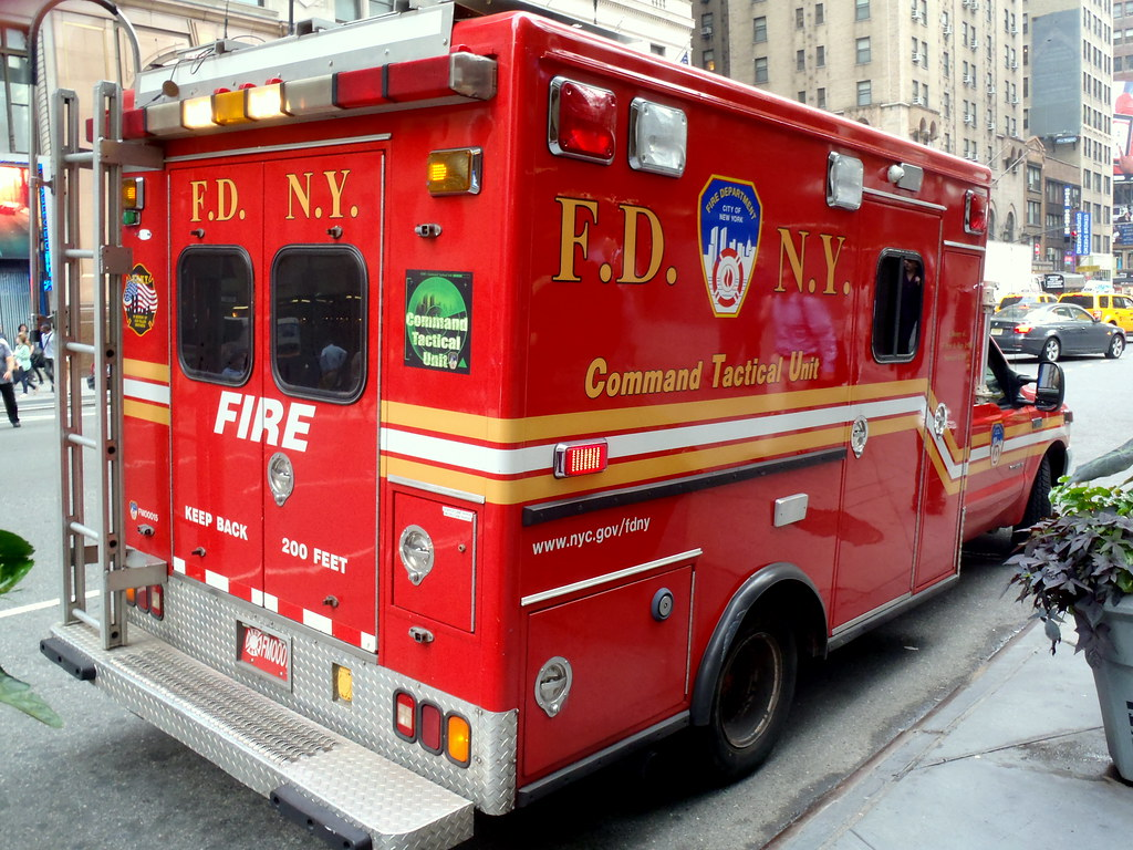 Picture Of New York City Fire Department Command Tactical