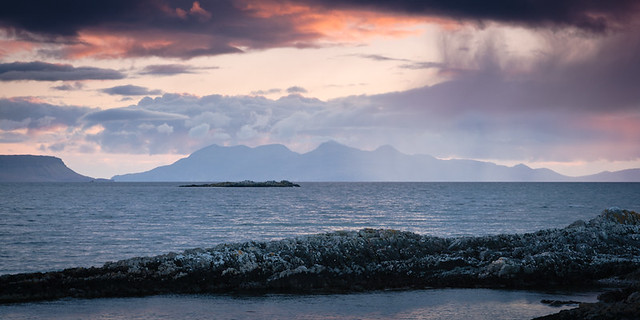 Sunset near Eigg and Rum II