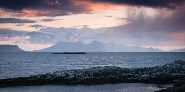 Sunset near Eigg and Rum II
