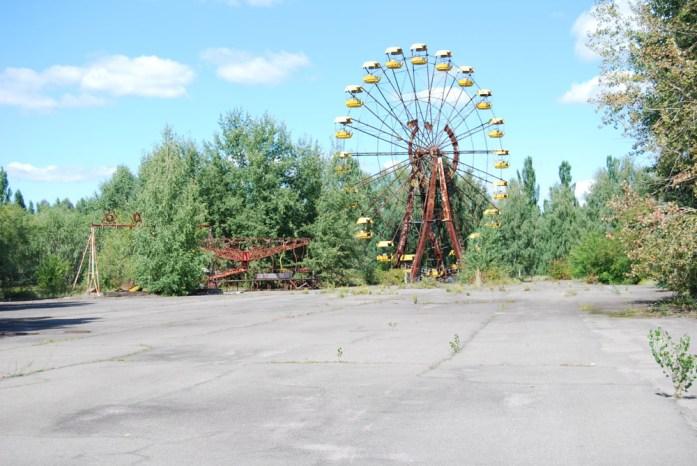 parque de atracciones abandonado chernobyl
