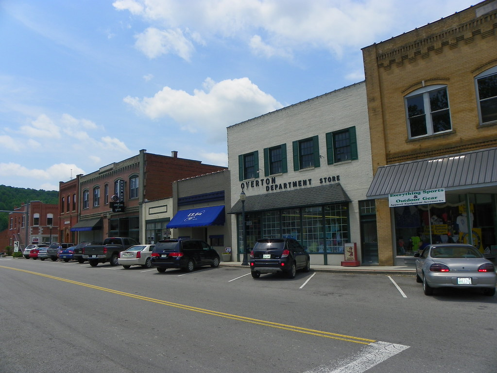 Beautiful Downtown Livingston Tennessee Livingtson Is