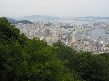 View from Cheonmasan Mountain