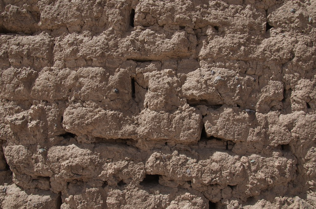 Ancient Mud Brick Wall Time And Exposure To The Elements