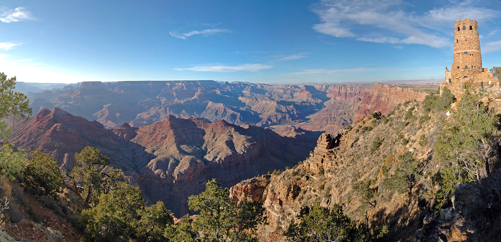 Grand Canyon National Park: Desert View Watchtower 0058