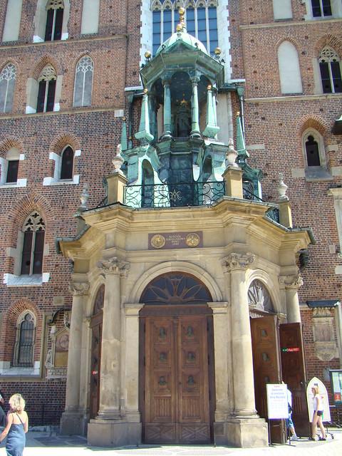 Iglesia de Santa María Cracovia Polonia 05