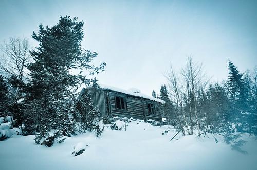 Wonky hut