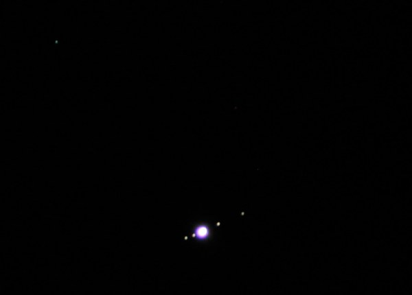"Uranus, Jupiter, and the Gallilean Moons | I had to ""blow ..."