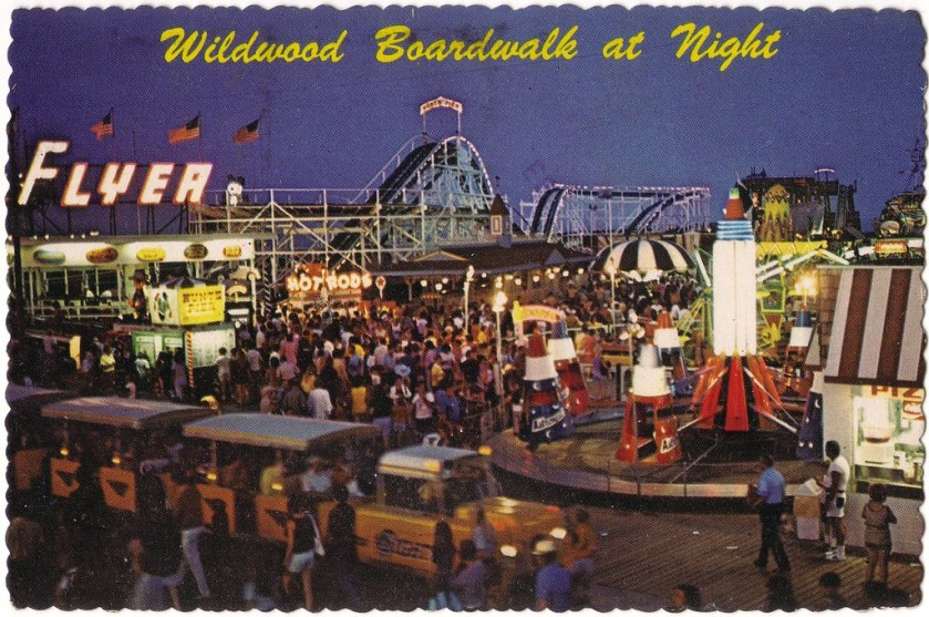"""Hunt's Pier At Night 