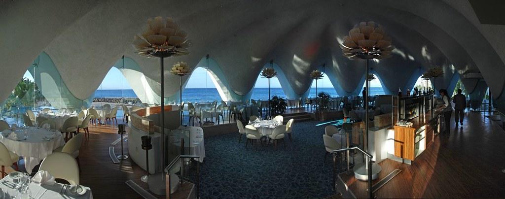 Interior Perla Restaurant La Concha Resort San Juan Pr