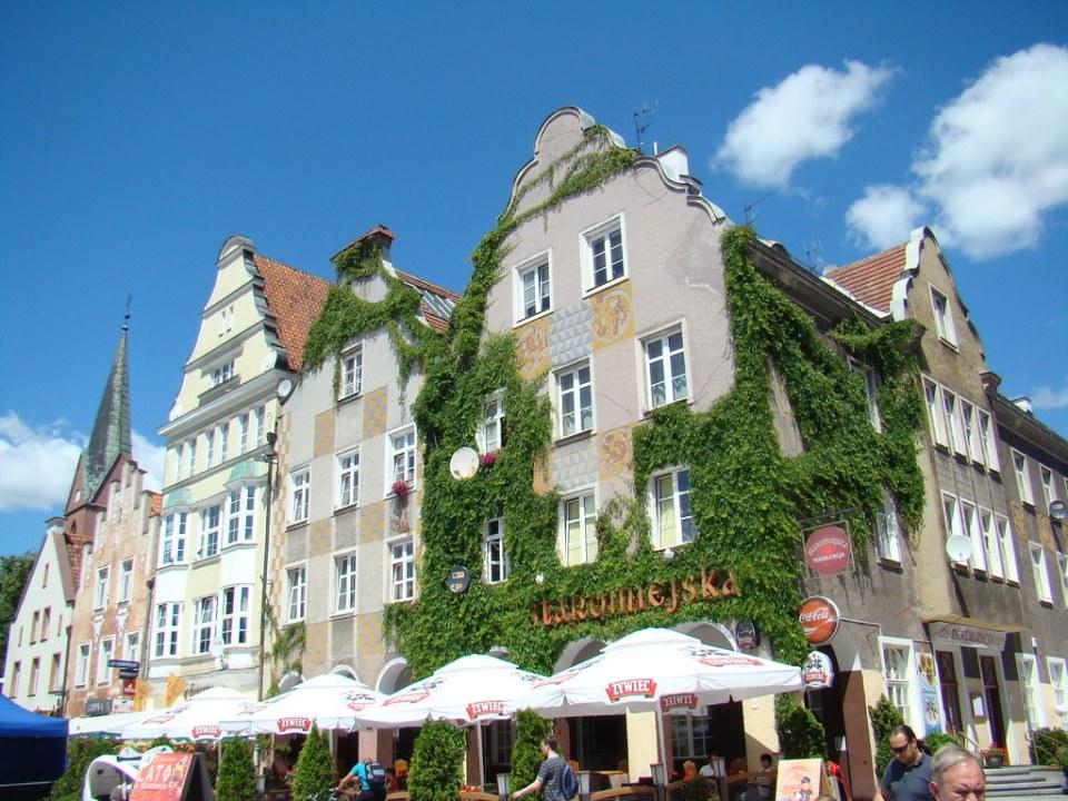 edificios ciudad antigua de Olsztyn Polonia 03