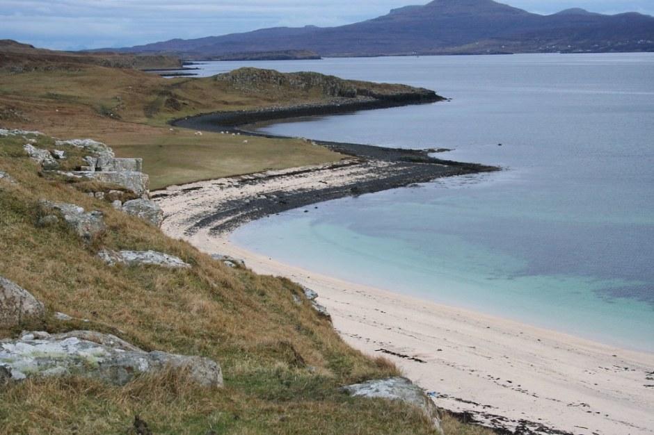 Skye - coral beach - blue water