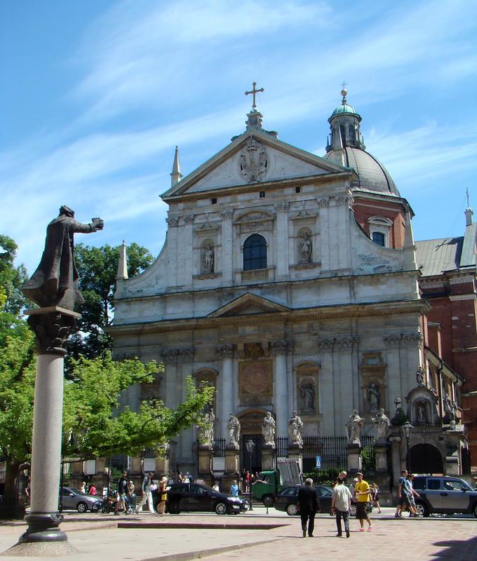 Iglesia de San Pedro y San Pablo Cracovia Polonia 01