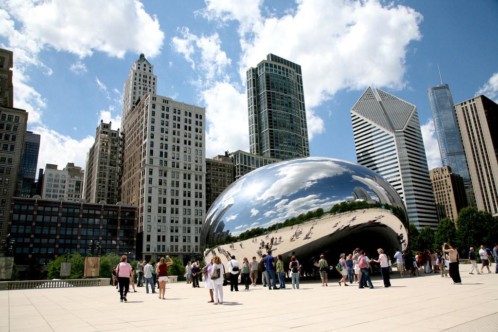 Chicago Ill Millennium Park Cloud Gate Quot The Bean