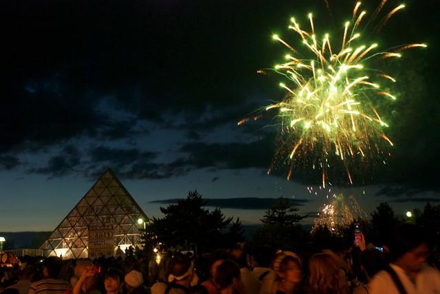 Aomori - Nebuta Matsuri - Fireworks