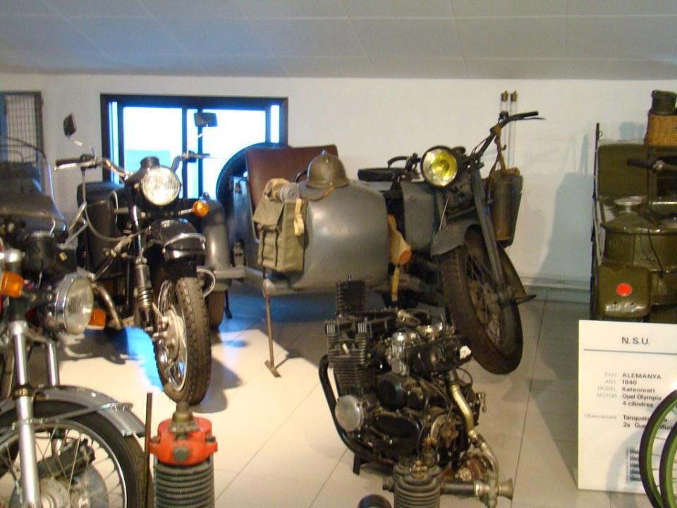 Andorra Museo Nacional del Automovil Motos antiguas 15