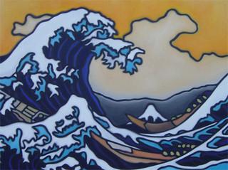 Hokusai's Tsunami