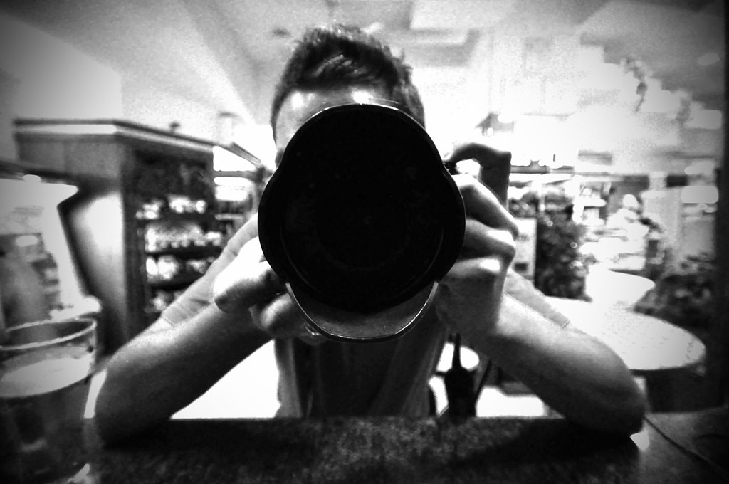Mirrored self portrait