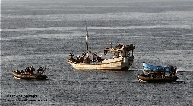 Pirates Surrender to Royal Marine Boarding Teams