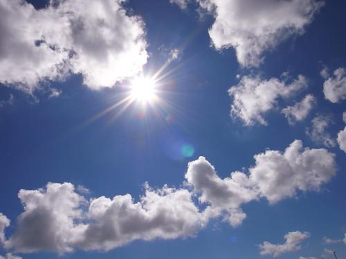 夏 | 藍藍的天 白白的雲 大大的太陽 | s | Flickr