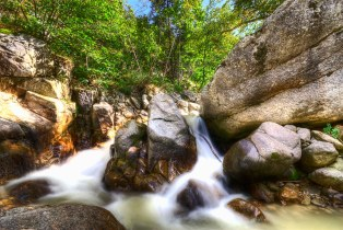 Milky water - HDR - long exposure