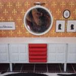 1970 Modella Rotes Esszimmer Sideboard Diepuppenstubensammlerin Flickr