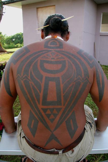Chamoru Tribal Tattoo