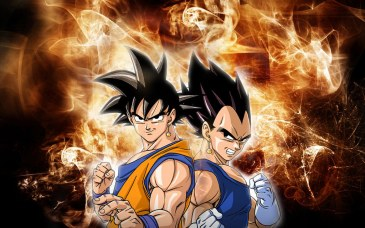 Goku And Vegeta | waterseas23 | Flickr
