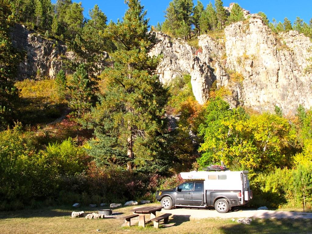 Spearfish Canyon Camping South Dakota