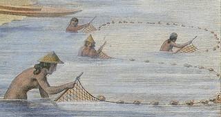 Lagua', Net Fishing