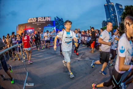 STAR WARS Run Singapore 2017