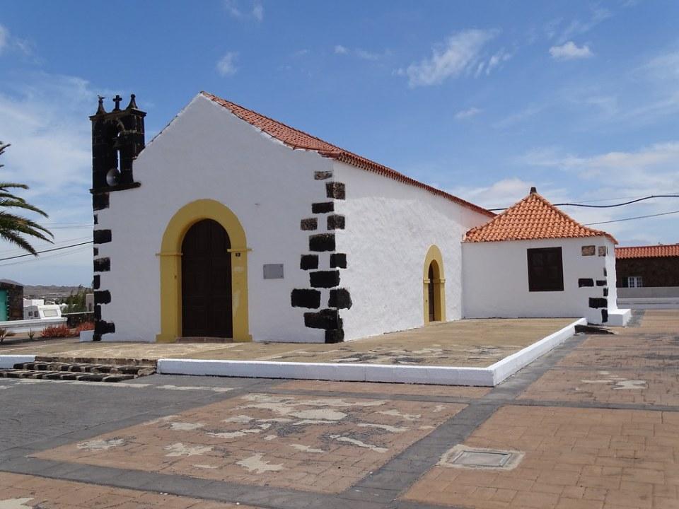 Lajares Ermita de San Antonio Isla de Fuerteventura