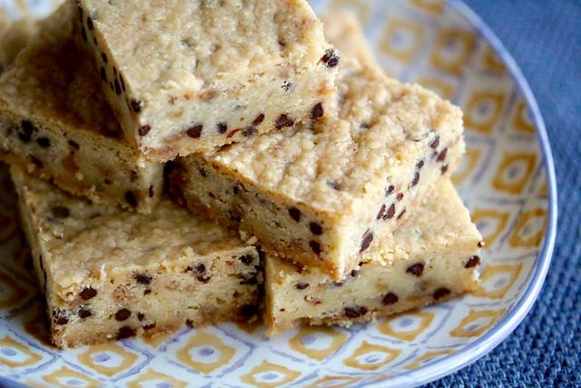 Choco Chip Toffee Shortbread Bars - 21