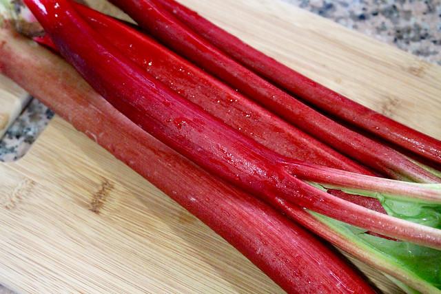 Rye Rhubarb Tahini Tart - 21